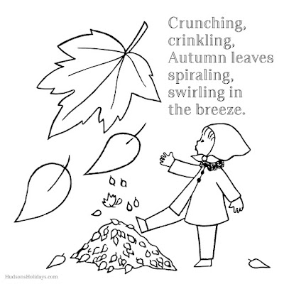 Crunching, crinkling, Autumn leaves... freebie