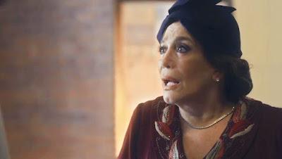 Emília (Susana Vieira) fica em choque ao reencontrar Adelaide (Joana de Verona) — Foto: Globo