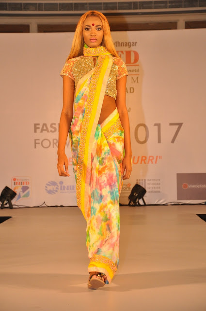 INIFD Hyderabad Annual Extravaganza, Fashion forward -2017 held @ ITC kakatiya
