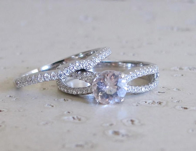 Wedding Bands For Halo Engagement Rings
