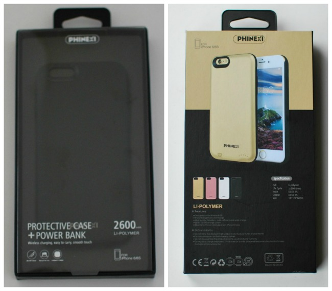 Phinexi-phone-case-review-collage-of-packaging-front-and-back