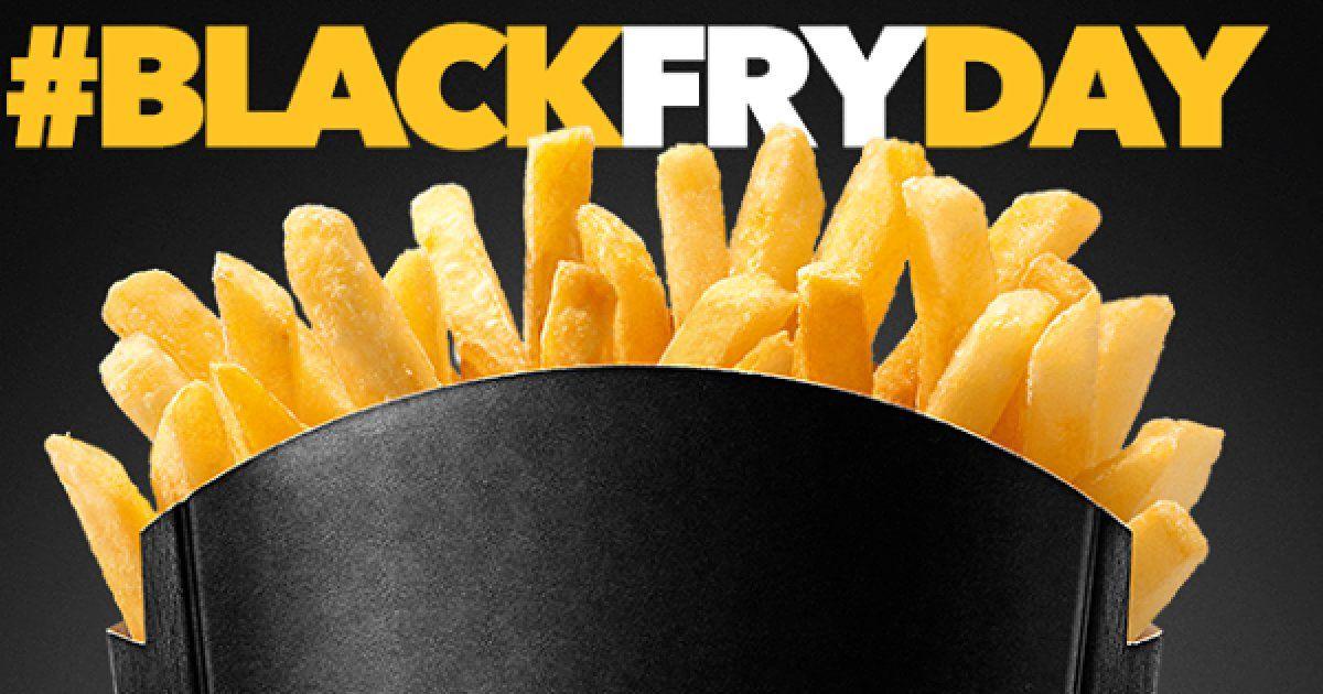 Black Friday Mc Donalds 2018