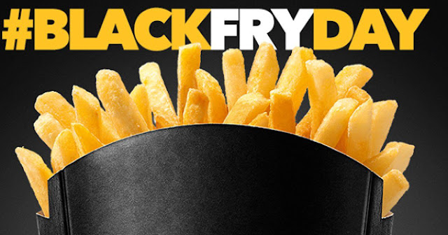 Black Friday Mc Donalds 2018