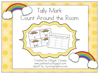 Tally Mark Count Around the Room, www.justteachy.blogspot.com