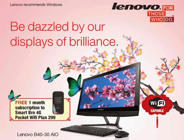 Lenovo Chinese New Year Promo