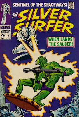 Silver Surfer #2, the Badoon
