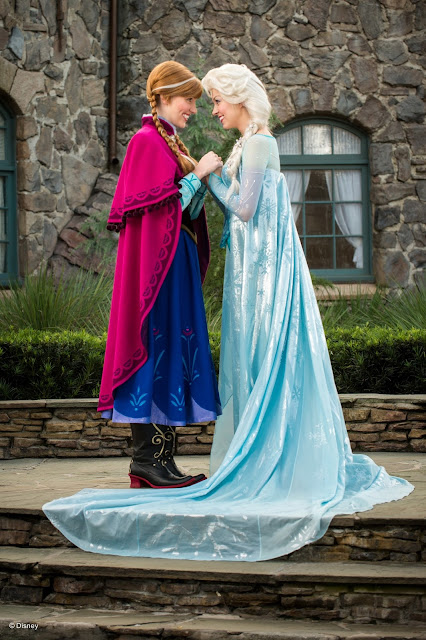 Anna  e Elsa no Epcot