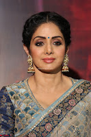 Sri Devi in designer saree stunning beauty at the launch of MOM movie Trailer~  Exclusive 022.JPG