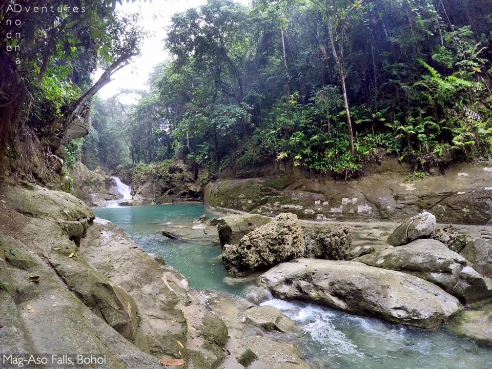 Mag-aso falls Bohol