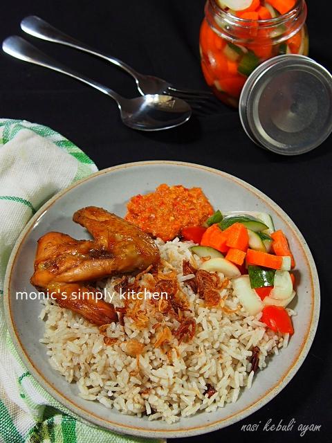 resep nasi kebuli ayam panggang