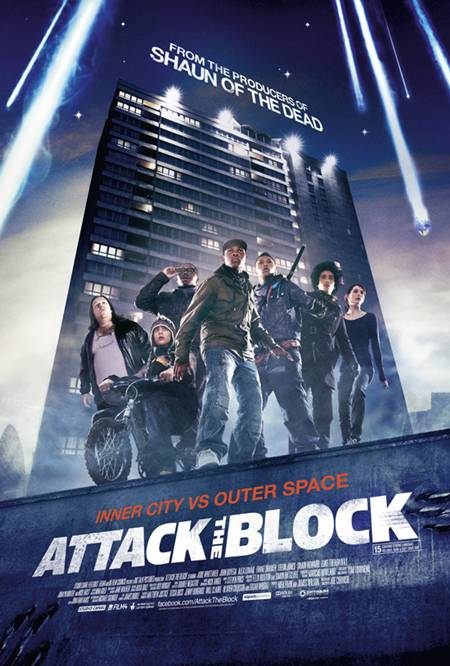 Attack The Block (2011) DVDRip Latino