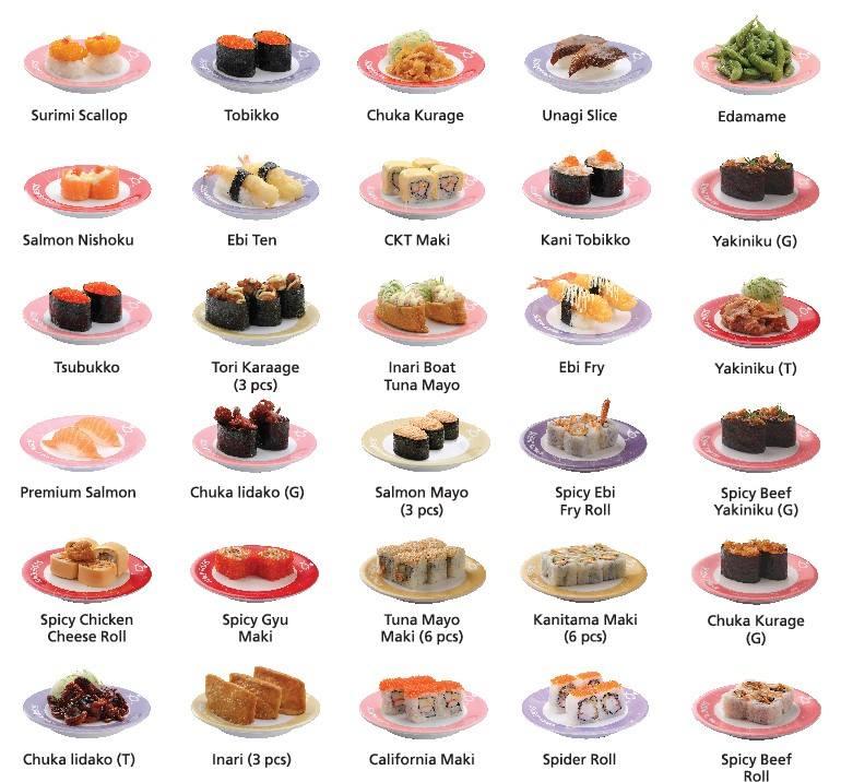 Sushi King Bonanza Rm3 18 Plate Kedah Perak Melaka Negeri