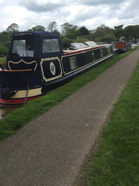 weekend moored at Nantwich