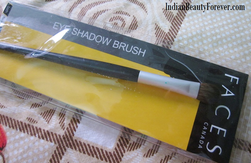 Faces Canada eye shadow brush Review