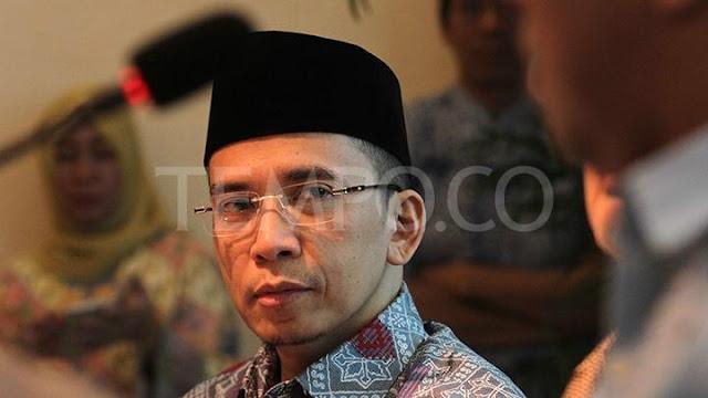 TGB Akan Bantu Jokowi Berdiskusi dengan Pihak yang Perlu Tabayyun