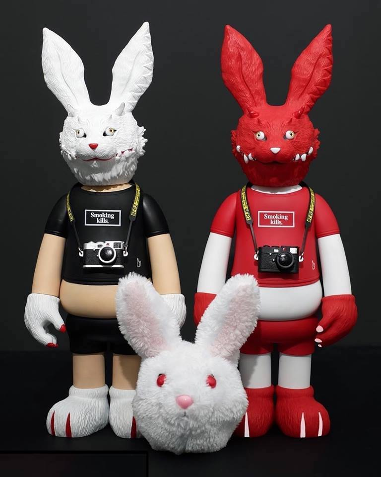 FXXKING RABBITS from #FR2 x T9G (Pre-order on CAMPFIRE)