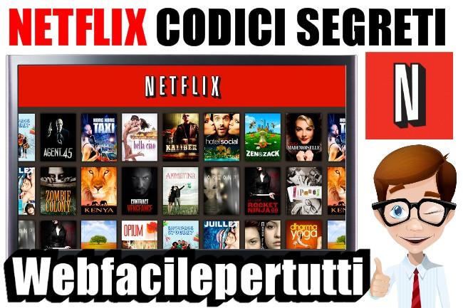 Netflix | Codici Segreti Per Sbloccare Tutte Le Categorie e Contenuti Extra