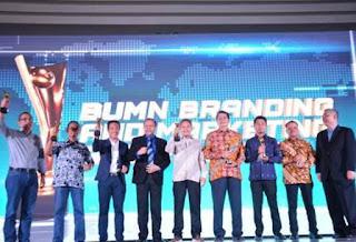 Komit Bertranformasi Teknologi Digital, PTP Raih Penghargaan BUMN Branding & Marketing