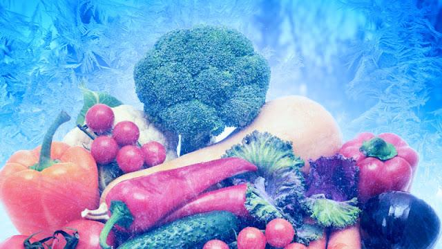 Не бойтесь мороженного! О пользе замороженных овощей и ягод.