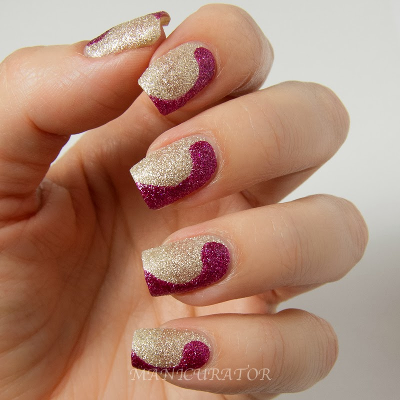 Pedicure Nail Art Designs For Fall: Manicurator: Free Hand Nail Art Design With Zoya Fall 2013