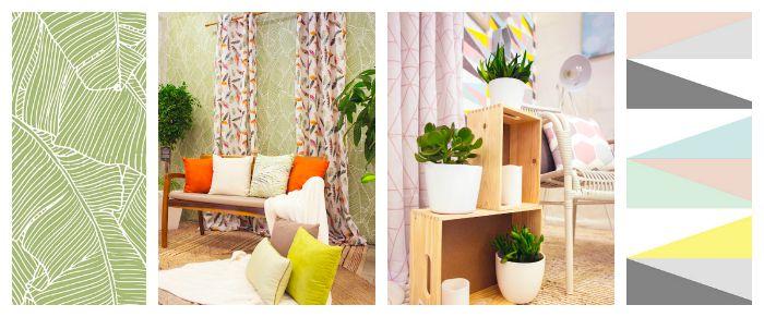 otoño en casa- 2 ambientes para inspirarte uno natural y el otro geométrico