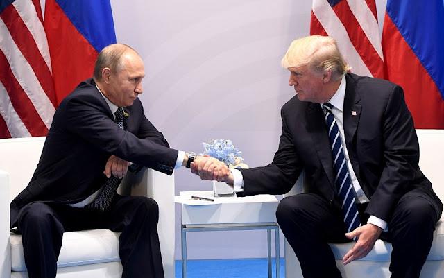 Putin e Trump devem anunciar trégua no sudoeste da Síria