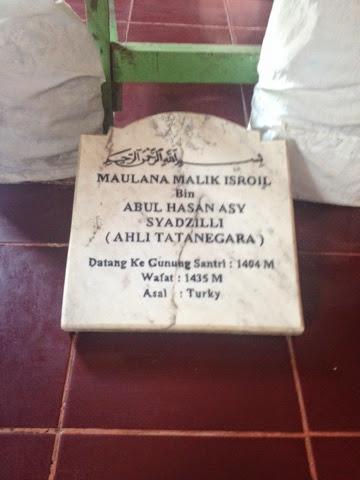 Biografi Maulana Malik Isro'il, Ahli Tatanegara Makam Gunung Santri