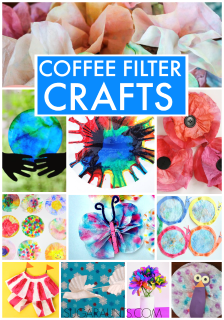 Coffee Filter Crafts The Ot Toolbox