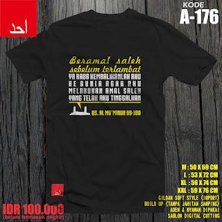 Beramal Saleh Sebelum Terlambat | Desain Baju Muslim