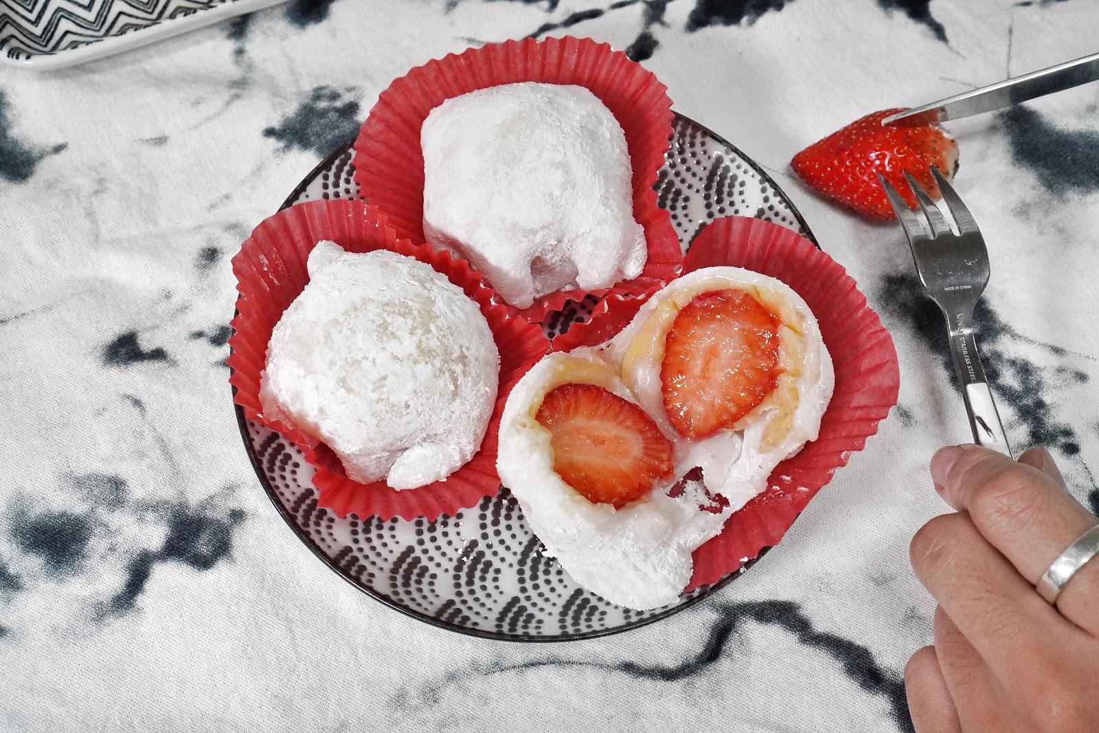 台南中西區美食【橘香合-蛋糕職人】草莓大福甜點推薦