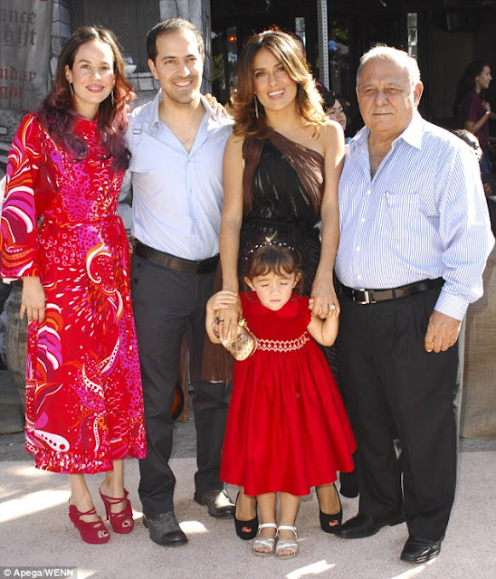 Salma Hayek Family Details: