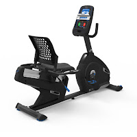 Nautilus R616 Recumbent Exercise Bike, review features compared with R618