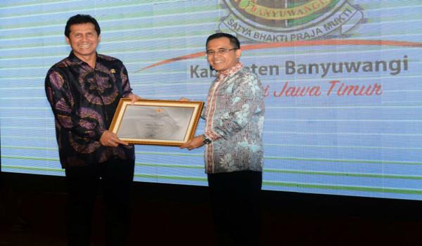 Nilai SAKIB Banyuwangi terbaik dan tertinggi di Indonesia.