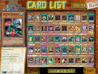 Cardlist Yugioh Joey The passion