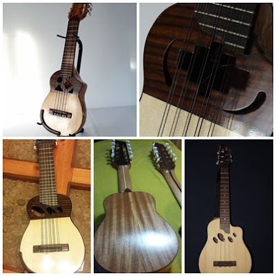 charangos de luthier Claudio Rojas  - Taller Antilko