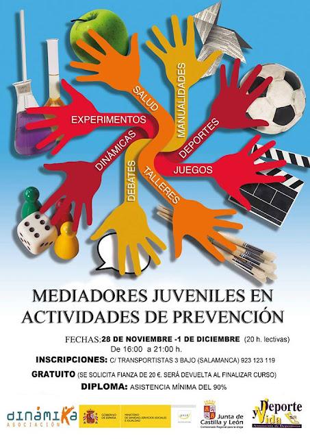 Curso de mediadores en actividades de prevención | Salamanca