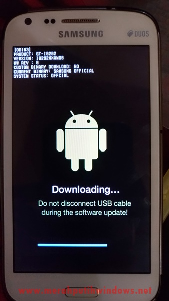 proses flashing android