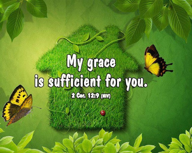 My Grace us Sufficient for You
