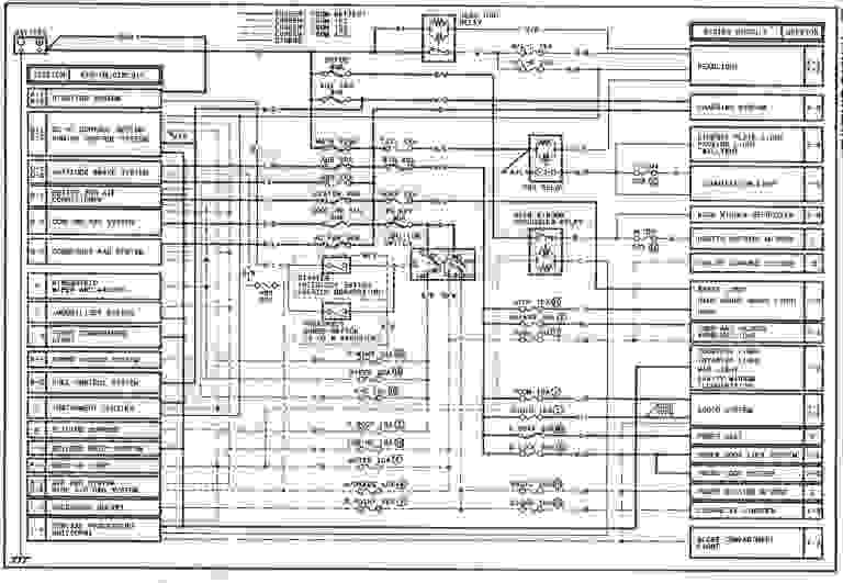 2001 Mazda 626 Wiring Diagram  Wiring Diagram Service
