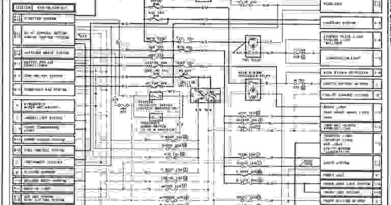 2001 Mazda 626 Wiring Diagram  Wiring Diagram Service