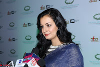 Dia Mirza in Sizzling Designer Saree at THE OLIVE CROWN AWARDS 2017 02.jpg