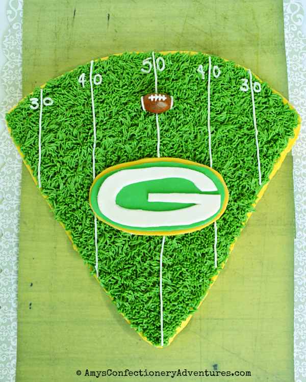 Amys Confectionery Adventures Green Bay Packers Cheesehead Cake