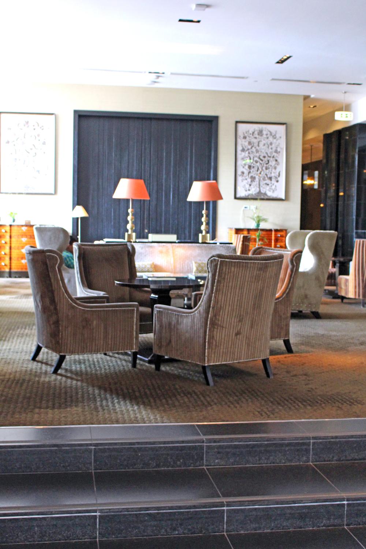 Lobby at The Westin Lima, Peru - luxury travel blog