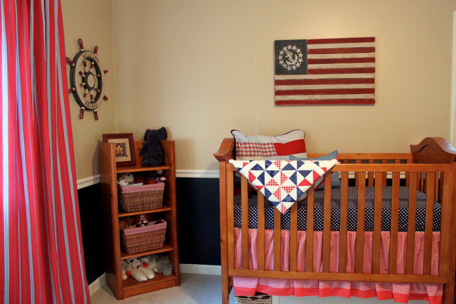 Nautical Nursery: Baby Boy's Room: A Nautical Nursery