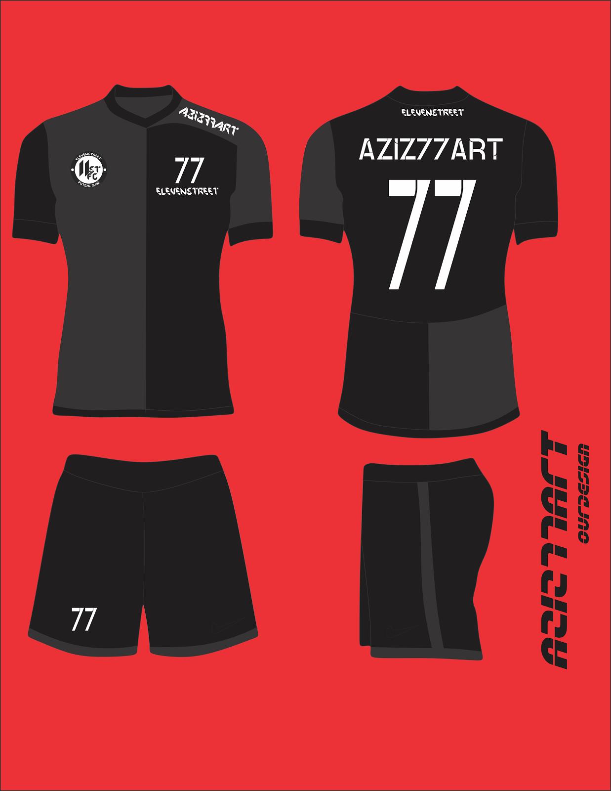 Desain Jersey Futsal Corel : desain, jersey, futsal, corel, Desain, Futsal, Klopdesain