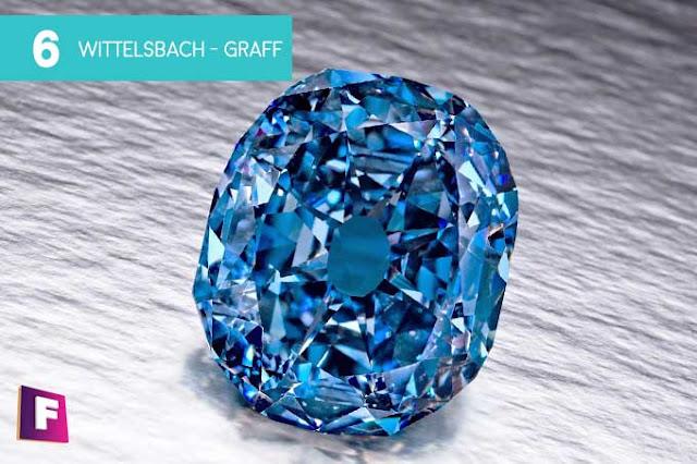 diamantes mas caros del mundo 2017 | puesto 6 wittelsbach-graff diamond - foro de minerales