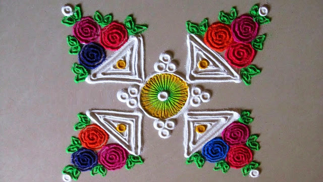 Diwali Rangoli Designs No.5
