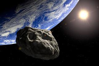 Gambar Benda langit asteroid