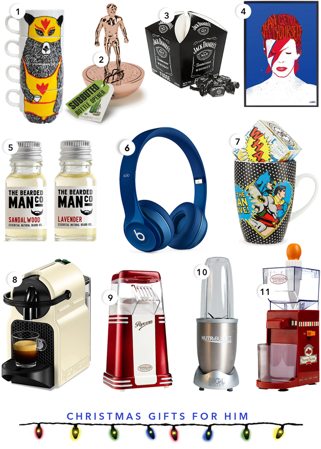 Christmas Gift Guide Presents For Him Temporary