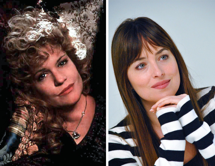 Melanie Griffith e sua filha Dakota Johnson